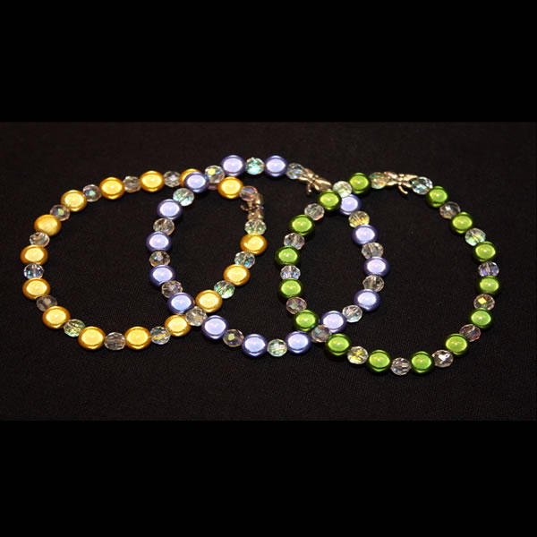Bracelets by Cyndie Lepori