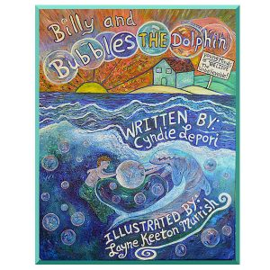 Bubbles Children's Dolphin Book