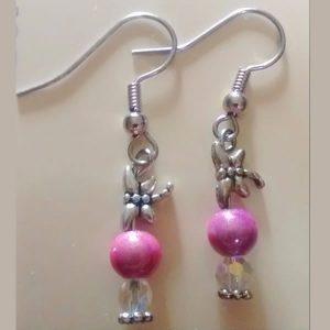Earrings by Cyndie Lepori