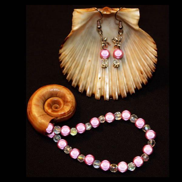 Love Pink Bracelet by Cyndie Lepori