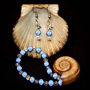 Sea Beautiful Blue Bracelet Set